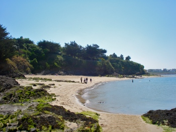 Photo of beach at St Jacut
